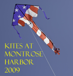 Kites at Montrose Harbor 2009 Photo Slide Show