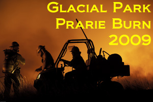 Glacial Park Prarie Burn Photo Slide Show