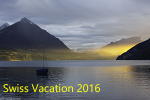 Swiss Vacation 2016 Photo Slide Show
